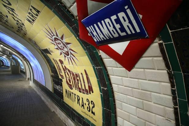 El pasado de Madrid en el metro